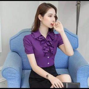 Tops - Purple Blouse